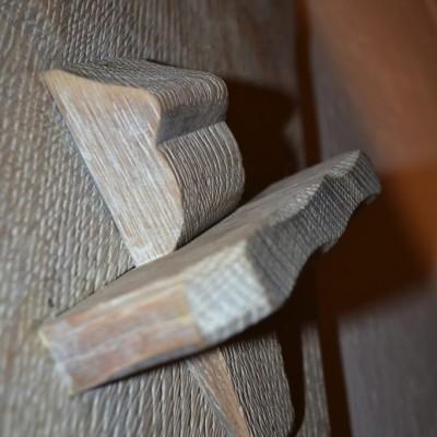 Zandstralen eiken trap Klerken