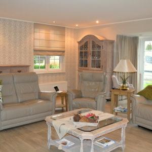 Volledig interieur behang - meubels - gordijnen