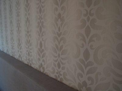 Straal en schilder - Behang